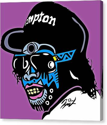 Eazy E Full Color Canvas Print by Kamoni Khem
