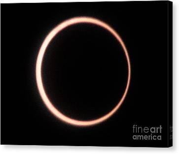 Eclipse 2012 Canvas Print