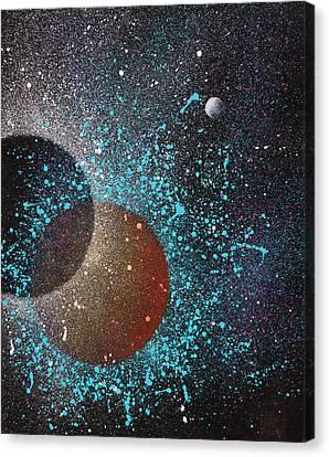 Eclipse Canvas Print by Reina Cottier