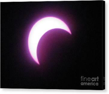 Eclipse9 2012 Canvas Print
