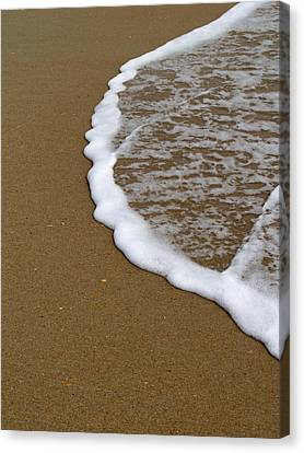 Terra Firma Canvas Print - Edge Of The Ocean by Jeremy Allen