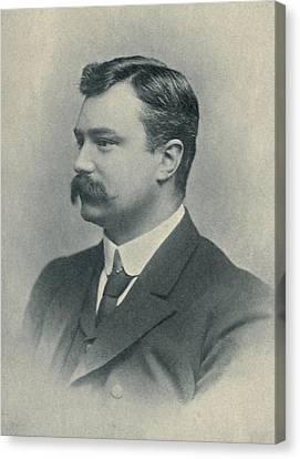 Edmund Dene Morel 1873-1924, British Canvas Print by Everett