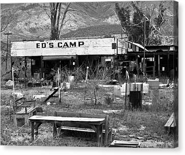 Ed's Camp Canvas Print