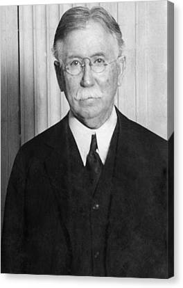 Edward L. Doheny, Oil Magnate Canvas Print by Everett