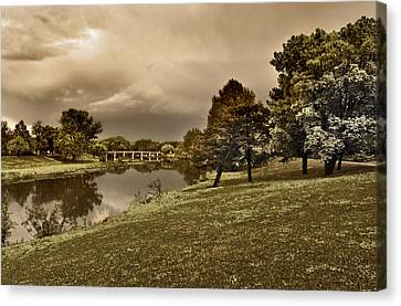 Eery Day Canvas Print