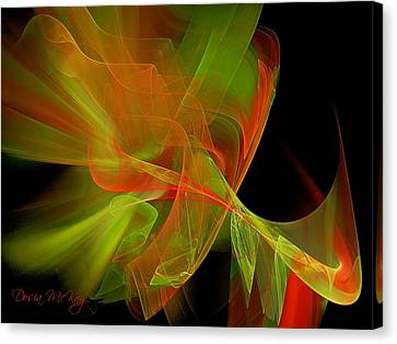 Effervescent  Canvas Print by Dosia McKay