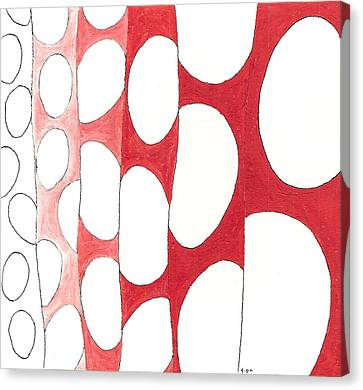 Egg Shower Curtain Canvas Print by Phil Burns