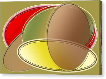 Egghead And Branes Canvas Print