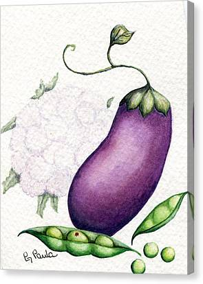 Eggplant Surprise Canvas Print