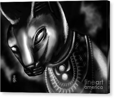 Egyptian Cat II Canvas Print