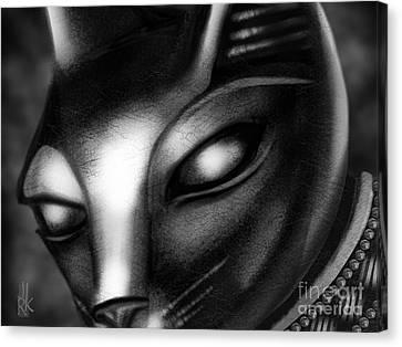 Egyptian Cat Canvas Print
