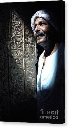 Dendera Canvas Print - Egyptian Portrait 2 by Bob Christopher