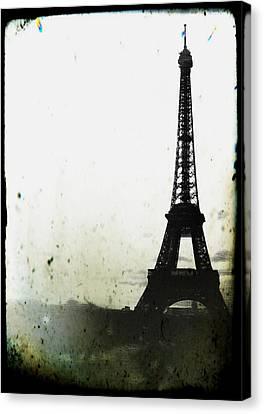 Eiffel Tower - Paris Canvas Print by Marianna Mills