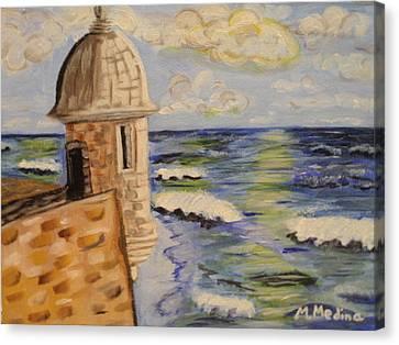 El Morro Canvas Print by Maria Medina