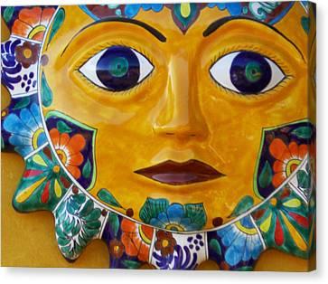 El Sol Canvas Print by Kathy Corday