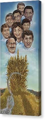 El Trigo Y La Cizana Canvas Print by Joe Santana