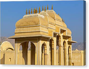 Elaborate Arch Structures In India Canvas Print by Inti St. Clair