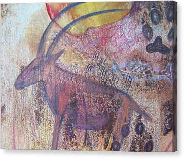 Eland Canvas Print by Vijay Sharon Govender