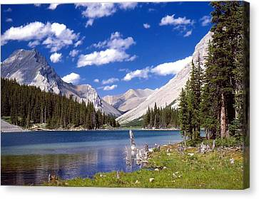 Elbow Lake Canvas Print by Jim Sauchyn
