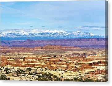 Elecidations Of Echelons Of Epochs Canvas Print by Scotts Scapes