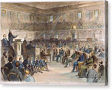 Electoral Commission, 1877 Canvas Print by Granger