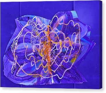 Electric Ecstasy Canvas Print by Anne-Elizabeth Whiteway