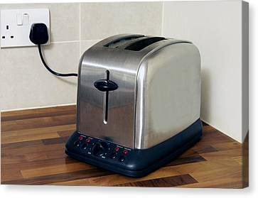 Electric Toaster Canvas Print by Johnny Greig