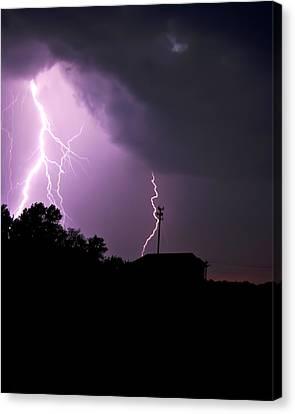 Electrifying Sky  Canvas Print