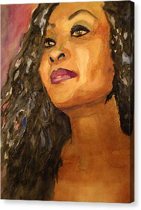 Elegance Canvas Print by Karen McDonald