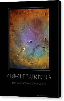 Elephant Trunk Nebula Canvas Print by Andre Van der Hoeven