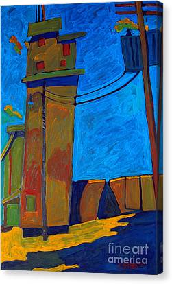 Elevator Canvas Print by Charlie Spear