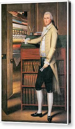Colonial Man Canvas Print - Elijah Boardman by Ralph Earl