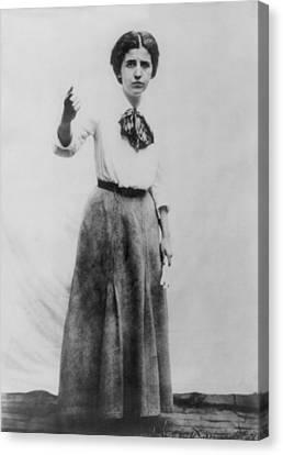 Elizabeth Gurley Flynn 1890-1964, Labor Canvas Print by Everett