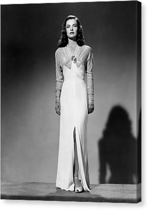 Ella Raines, 1944 Canvas Print by Everett