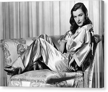 Ella Raines, Universal Pictures Canvas Print
