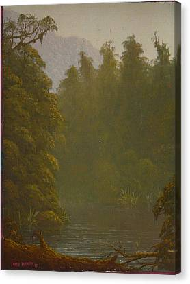 Ellery River 1977 Canvas Print by Terry Perham