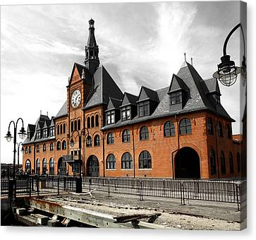 Ellis Island Train Station Canvas Print
