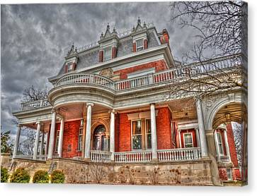 Ellwood Mansion Canvas Print by Dan Crosby