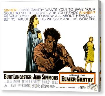 Elmer Gantry, Jean Simmons, Burt Canvas Print by Everett