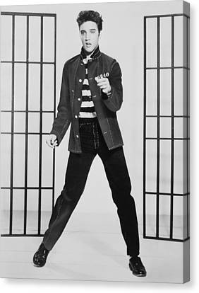 Elvis Presley 1935-1977, Publicity Canvas Print by Everett