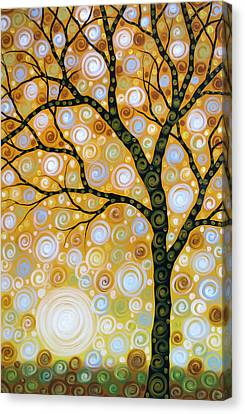 Emanating  Canvas Print by Amy Giacomelli