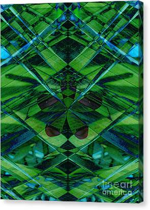 Emerald Cut Canvas Print by Ann Powell