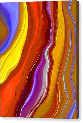 Emerge Canvas Print by Linnea Tober
