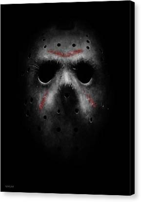 Emerging From Darkness Canvas Print by Ronald Barba