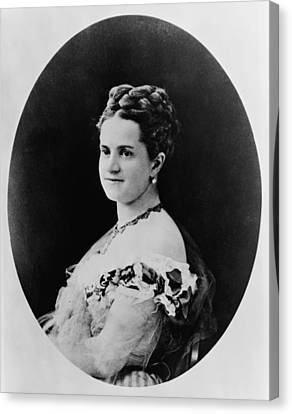 Emily Warren Roebling 1843-1903 Canvas Print by Everett