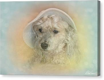 Emily's Bonnet Canvas Print