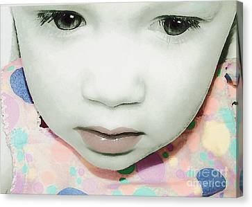 Emo Pop Baby Canvas Print