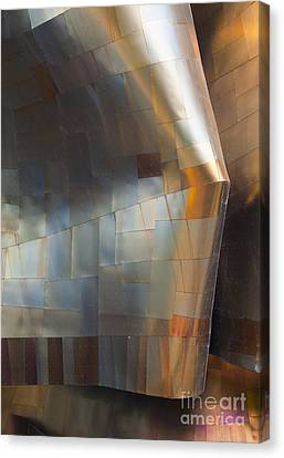 Emp Abstract Fold Canvas Print by Chris Dutton