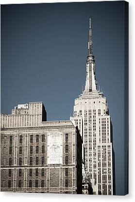 Empire State 2 Canvas Print by Darren Martin
