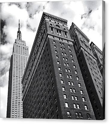 Classic Canvas Print - Empire State Building - New York City by Vivienne Gucwa